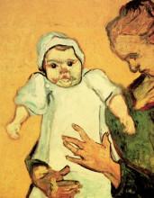 "Картина ""Mother Roulin with Her Baby"" художника ""Ван Гог Винсент"""