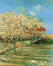 "Картина ""orchard in blossom"" художника ""ван гог винсент"""