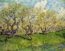 "Копия картины ""Orchard in Blossom"" художника ""Ван Гог Винсент"""