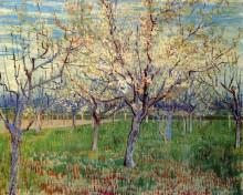 """Картина """"orchard with blossoming apricot trees"""" художника """"ван гог винсент"""""""