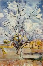 "Картина ""pink peach trees"" художника ""ван гог винсент"""