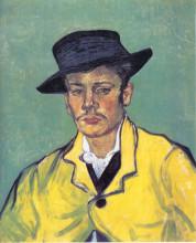 "Картина ""portrait of armand roulin"" художника ""ван гог винсент"""