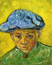 "Картина ""portrait of camille roulin"" художника ""ван гог винсент"""