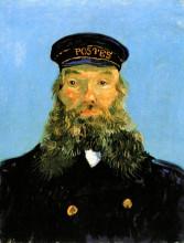 "Копия картины ""portrait of postman roulin"" художника ""ван гог винсент"""