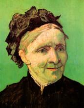 """Репродукция картины """"portrait of the artist's mother"""" художника """"ван гог винсент"""""""
