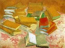 """Картина """"still life - french novels"""" художника """"ван гог винсент"""""""