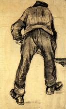 """Копия картины """"digger"""" художника """"ван гог винсент"""""""