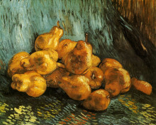 """Картина """"still life with pears"""" художника """"ван гог винсент"""""""