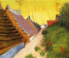 "Репродукция картины ""street in saintes-maries"" художника ""ван гог винсент"""