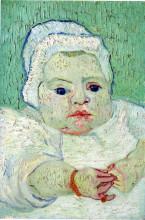 "Картина ""the baby marcelle roulin"" художника ""ван гог винсент"""