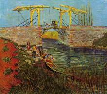"Картина ""The Langlois Bridge at Arles"" художника ""Ван Гог Винсент"""