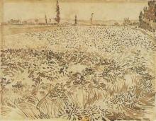 "Картина ""Wheat Field"" художника ""Ван Гог Винсент"""