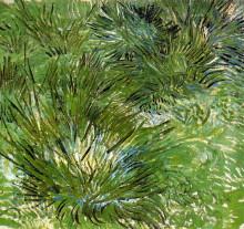 """Репродукция картины """"clumps of grass"""" художника """"ван гог винсент"""""""