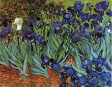 "Копия картины ""irises"" художника ""ван гог винсент"""