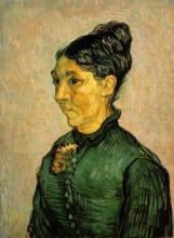 "Копия картины ""Portrait of Madame Trabuc"" художника ""Ван Гог Винсент"""