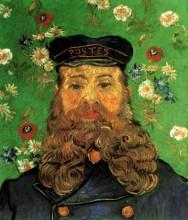 "Картина ""portrait of the postman joseph roulin"" художника ""ван гог винсент"""