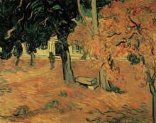 "Картина ""The Garden of Saint-Paul Hospital"" художника ""Ван Гог Винсент"""