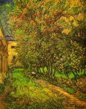 "Копия картины ""the garden of saint-paul hospital"" художника ""ван гог винсент"""