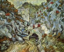 "Репродукция картины ""The ravine of the Peyroulets"" художника ""Ван Гог Винсент"""