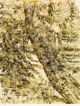 """Репродукция картины """"tree with ivy in the asylum garden"""" художника """"ван гог винсент"""""""