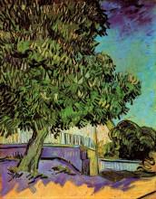 "Репродукция картины ""chestnut tree in blossom"" художника ""ван гог винсент"""