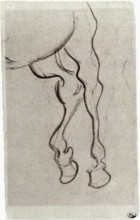 "Картина ""Hind Legs of a Horse"" художника ""Ван Гог Винсент"""