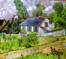 """Картина """"Houses in Auvers"""" художника """"Ван Гог Винсент"""""""