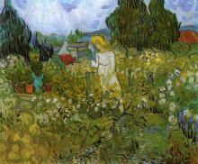 "Копия картины ""Mademoiselle Gachet in her garden at Auvers-sur-Oise"" художника ""Ван Гог Винсент"""
