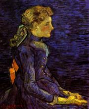 "Копия картины ""Portrait of Adeline Ravoux"" художника ""Ван Гог Винсент"""
