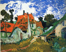 "Картина ""Street in Auvers-sur-Oise"" художника ""Ван Гог Винсент"""