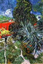 "Картина ""The Garden of Doctor Gachet at Auvers-sur-Oise"" художника ""Ван Гог Винсент"""