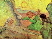 "Картина ""the raising of lazarus after rembrandt"" художника ""ван гог винсент"""