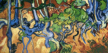"""Репродукция картины """"Tree roots"""" художника """"Ван Гог Винсент"""""""
