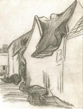 "Копия картины ""village street, sketch"" художника ""ван гог винсент"""