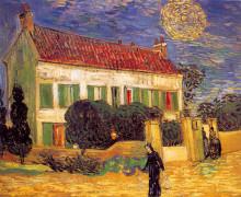 "Картина ""white house at night"" художника ""ван гог винсент"""