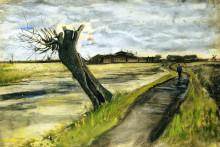 "Копия картины ""Pollard Willow"" художника ""Ван Гог Винсент"""