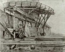 "Копия картины ""Saw Mill"" художника ""Ван Гог Винсент"""