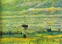 "Картина ""shores of scheveningen"" художника ""ван гог винсент"""