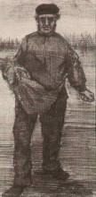 "Копия картины ""sower"" художника ""ван гог винсент"""