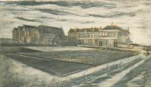 "Репродукция картины ""the houses on schenkweg where van gogh lived"" художника ""ван гог винсент"""