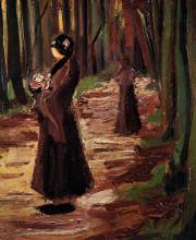 "Картина ""two women in the woods"" художника ""ван гог винсент"""