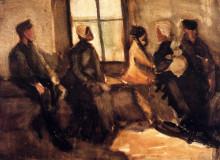 "Картина ""Waiting Room"" художника ""Ван Гог Винсент"""