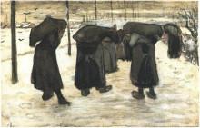 "Копия картины ""women miners"" художника ""ван гог винсент"""