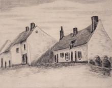 "Картина ""a zandmennik house"" художника ""ван гог винсент"""