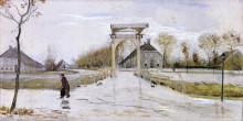 "Картина ""drawbridge in nieuw-amsterdam"" художника ""ван гог винсент"""