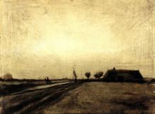 """Копия картины """"Landscape in Drenthe"""" художника """"Ван Гог Винсент"""""""