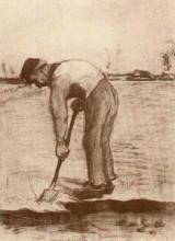 """Репродукция картины """"Digger"""" художника """"Ван Гог Винсент"""""""