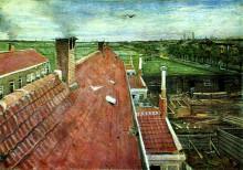 "Картина ""View from the Window of Vincent's Studio in Winter"" художника ""Ван Гог Винсент"""