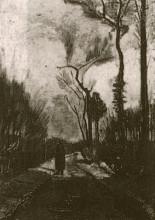 "Копия картины ""Lane in Autumn"" художника ""Ван Гог Винсент"""