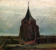 """Картина """"the old tower"""" художника """"ван гог винсент"""""""